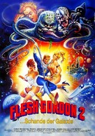 Flesh Gordon Meets the Cosmic Cheerleaders - German Movie Poster (xs thumbnail)