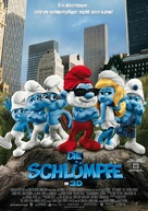 The Smurfs - German Movie Poster (xs thumbnail)