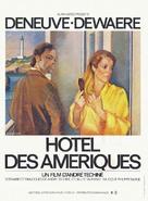 Hôtel des Amèriques - French Movie Poster (xs thumbnail)
