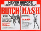 Butch Cassidy and the Sundance Kid - British Combo movie poster (xs thumbnail)