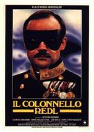 Oberst Redl - Italian Movie Poster (xs thumbnail)