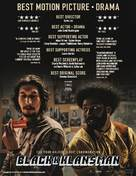 BlacKkKlansman - British For your consideration movie poster (xs thumbnail)