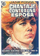 A Doll's House - Spanish Movie Poster (xs thumbnail)