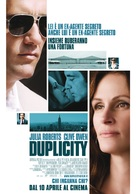 Duplicity - Italian Movie Poster (xs thumbnail)