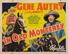 In Old Monterey - Movie Poster (xs thumbnail)