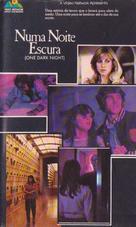 One Dark Night - Brazilian VHS movie cover (xs thumbnail)