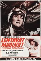 Jet Pilot - Finnish Movie Poster (xs thumbnail)