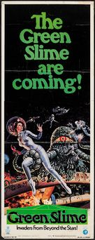 The Green Slime - Theatrical movie poster (xs thumbnail)
