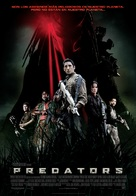 Predators - Spanish Movie Poster (xs thumbnail)