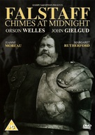 Chimes at Midnight - British DVD movie cover (xs thumbnail)