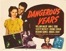 Dangerous Years - Movie Poster (xs thumbnail)