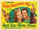 Down Argentine Way - Movie Poster (xs thumbnail)