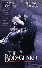 The Bodyguard - VHS cover (xs thumbnail)