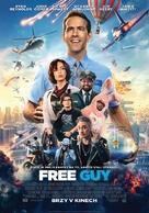 Free Guy - Czech Movie Poster (xs thumbnail)