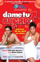 Dame tu cuerpo - Mexican Movie Poster (xs thumbnail)