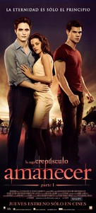 The Twilight Saga: Breaking Dawn - Part 1 - Argentinian Movie Poster (xs thumbnail)