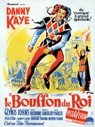 The Court Jester - French Movie Poster (xs thumbnail)