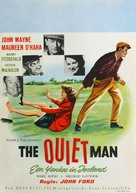 The Quiet Man - Dutch Movie Poster (xs thumbnail)