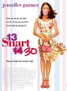 13 Going On 30 - Danish Movie Poster (xs thumbnail)