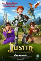 Justin and the Knights of Valour - Mexican Movie Poster (xs thumbnail)