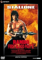 Rambo: First Blood Part II - DVD movie cover (xs thumbnail)