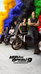 Fast & Furious 9 - Turkish Movie Poster (xs thumbnail)