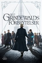 Fantastic Beasts: The Crimes of Grindelwald - Norwegian Movie Cover (xs thumbnail)