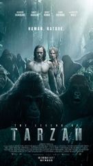 The Legend of Tarzan - Lebanese Movie Poster (xs thumbnail)
