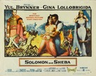 Solomon and Sheba - Theatrical poster (xs thumbnail)