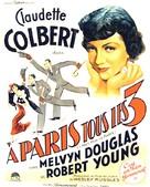 I Met Him in Paris - French Movie Poster (xs thumbnail)