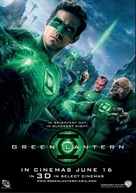 Green Lantern - Malaysian Movie Poster (xs thumbnail)