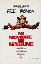 Il Mio Nome E Nessuno - Spanish Movie Poster (xs thumbnail)