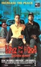 Boyz N The Hood - Finnish VHS movie cover (xs thumbnail)