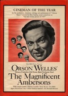 The Magnificent Ambersons - poster (xs thumbnail)