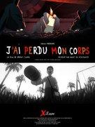 J'ai perdu mon corps - French Movie Poster (xs thumbnail)