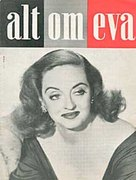 All About Eve - Danish Movie Poster (xs thumbnail)