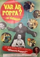 Where's Poppa? - Swedish Movie Poster (xs thumbnail)