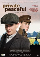 Private Peaceful - New Zealand Movie Poster (xs thumbnail)