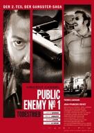 L'ennemi public n°1 - German Movie Poster (xs thumbnail)