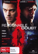 Reasonable Doubt - Australian DVD cover (xs thumbnail)