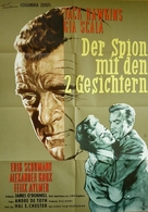 The Two-Headed Spy - German Movie Poster (xs thumbnail)