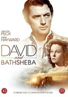 David and Bathsheba - Danish DVD cover (xs thumbnail)