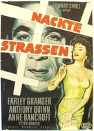 The Naked Street - German Movie Poster (xs thumbnail)