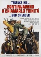 ...continuavano a chiamarlo Trinità - Italian Movie Poster (xs thumbnail)