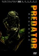 Predator - Hungarian DVD cover (xs thumbnail)