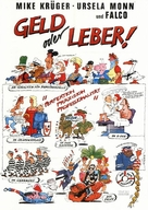 Geld oder Leber! - German Movie Poster (xs thumbnail)