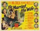 He Married His Wife - Movie Poster (xs thumbnail)