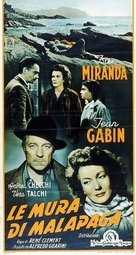 Mura di Malapaga, Le - Italian Movie Poster (xs thumbnail)