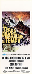 The Land That Time Forgot - Italian Movie Poster (xs thumbnail)
