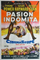Untamed - Argentinian Movie Poster (xs thumbnail)
